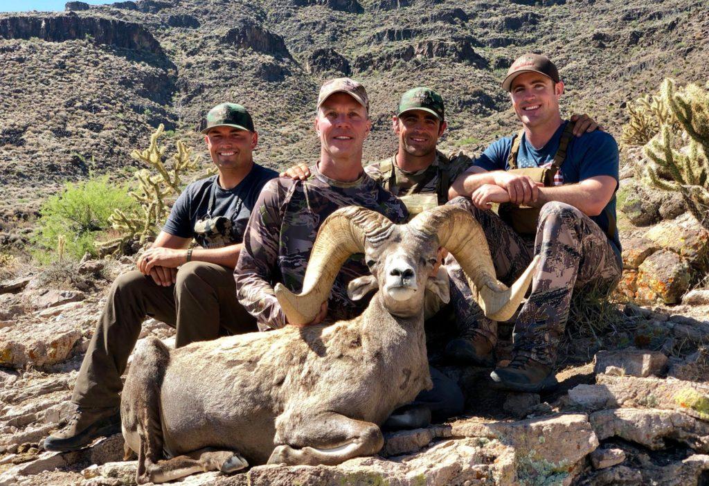AZ Big Game Super Raffle 2017 Desert Bighorn Sheep Winner
