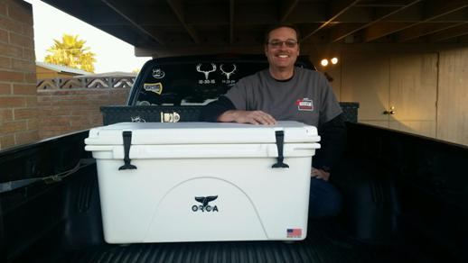 Orca Cooler Winner David Loper