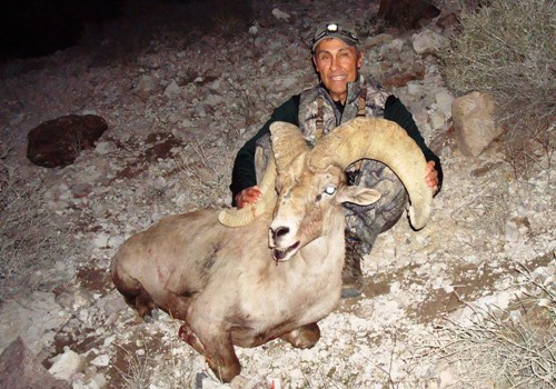 AZ Big Game Super Raffle Sheep Winner