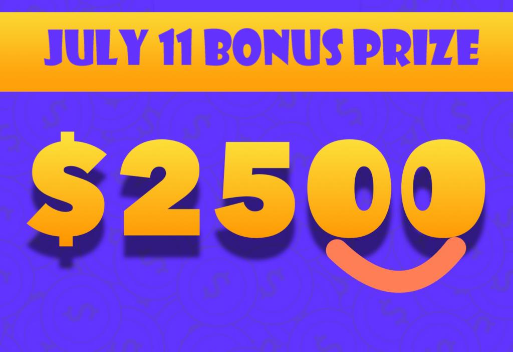AZ Big Game Super Raffle July 11 2021 Bonus Prize