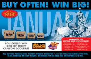 Canyon Cooler Bonus Prize