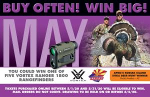 May Bonus Prize Vortex Ranger