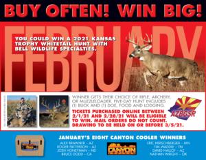 February Bonus Prize KS Whitetail Hunt