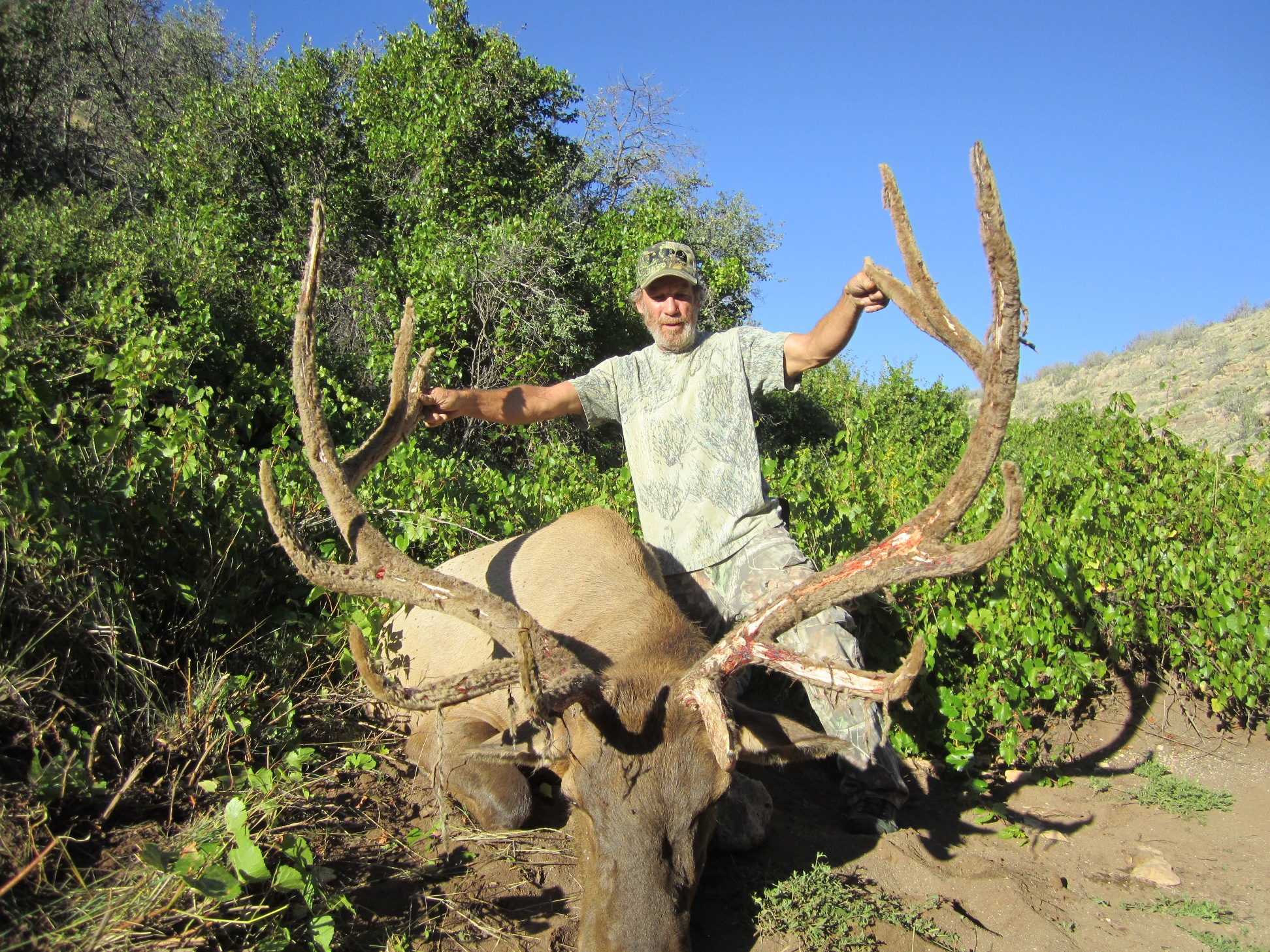 AZ Big Game Super Raffle 2014 Elk Winner
