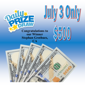 AZ Big Game Super Raffle July 3 2021 Cash Bonus Prize Winner Pick