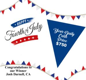 AZ Big Game Super Raffle July 4 2021 Bonus Prize Winner