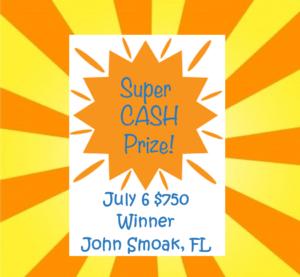 AZ Big Game Super Raffle July 6 2021 Bonus Prize Winner